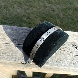 """Jewelry - Unisex Steel Bracelet  8"""""""